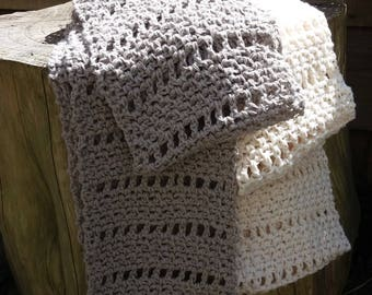 Made to Order Linen Cowl Infinity Scarf