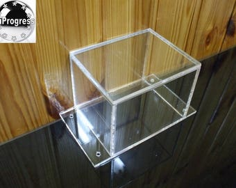 Acrylic Case Box Enclosure for DIY Electronics Project Device