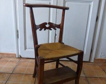 Antique Chair, Prie Dieu, Prayer Chair, French Oak, Victorian, Circa 1880