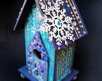 Crystal Birdhouse