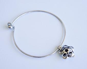 Essential oil bracelet, essential oil charm bracelet, essential oil diffuser bangle bracelet
