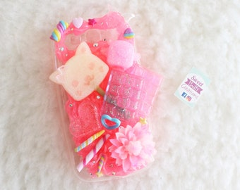 Pink Decoden Cover (Samsung Galaxy S3)