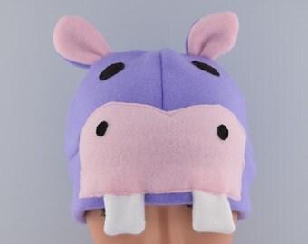 Fleece Hippo Hat