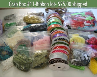 DESTASH, Grab Box, Organza Ribbon, organza,ribbon embellishment,hair bows, girls bows, wedding supplies, party decorations, party supplies