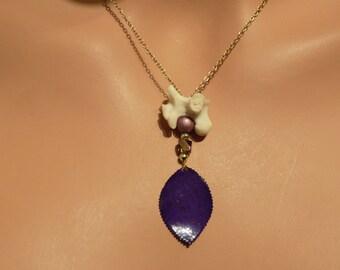 Bone Necklace Handmade Real Bone Jewelry