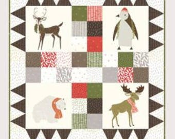 Merrily Quilt Kit by Jesse Maloney for Gingiber