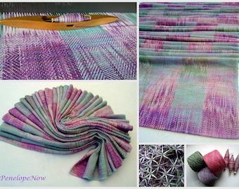 """Handwoven Baby Wrap, Cotton / Hemp Size 4,  27,5 """" x 141 """" / 70 cm X 360 cm. Unique piece"""