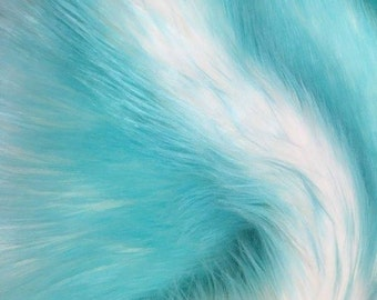 Candy Shag Fur Aruba 58 Inches Fabric by the Yard, 1 yard