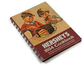 Hershey's 1934 Cookbook Copyright 1971 Vintage