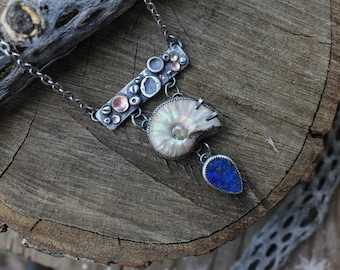 Tidepool - Nautilus Barnacle Necklace