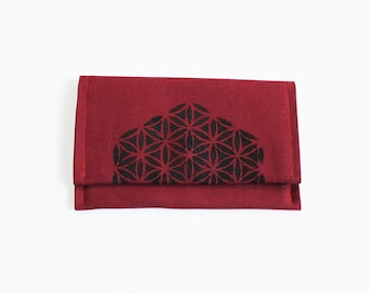 Minimalist Canvas Bi Fold Wallet