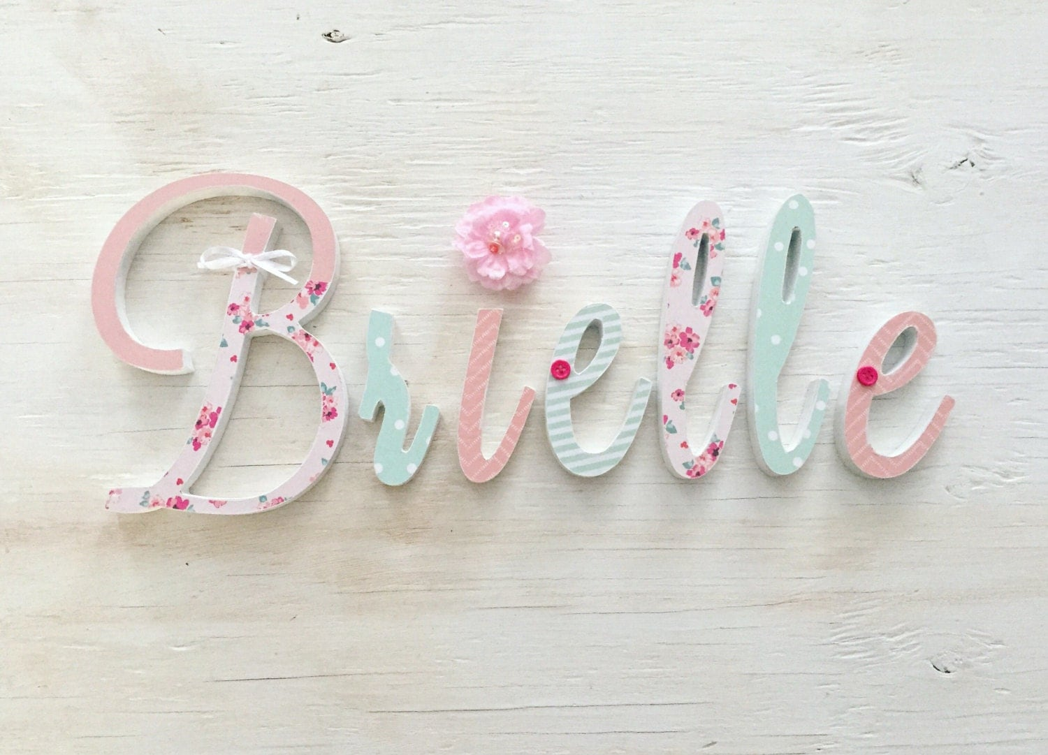 baby girl nursery decor name letters girls bedroom decor