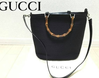 Gucci bamboo handles  bag vintage