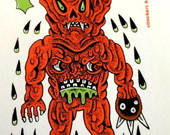 Swamp Demons by DRACULAZER