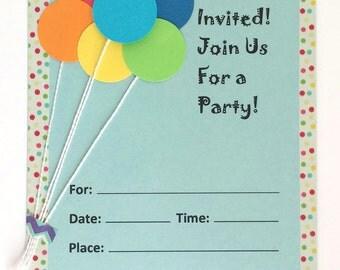 Handmade Party Invitations