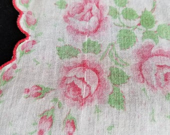 Antique hankie, very delicate dates to 1940