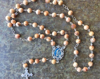 Our Lady of Lourdes Sand and Sky Rosary