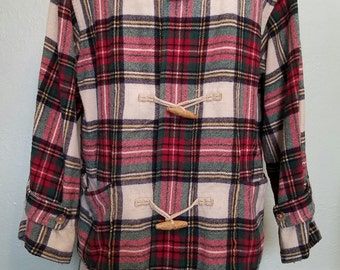 Vintage-style duffle coat