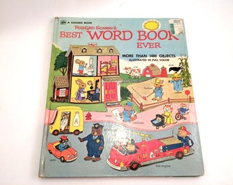 Richard Scarry's Best Word Book Ever, 1973 Edition