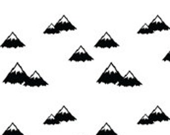 Mountains Bumper Pads (navy or black