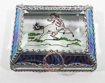 Mustang, Horse, Equine -Treasure Box