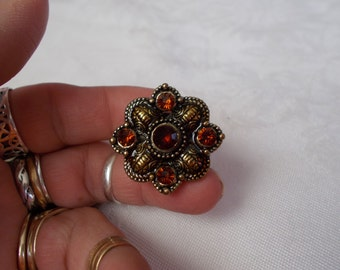 Victorian Gothic Ring-Size 7.5-R620