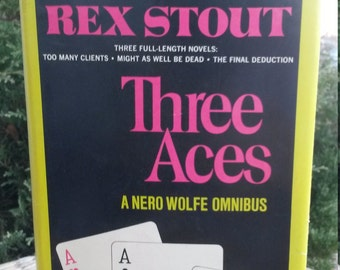 Three Aces: A Nero Wolfe Omnibus by Rex Stout