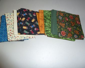 Fat Quarters Bundle (60) Cotton, For Quilters, Variety of Patterns and Colors