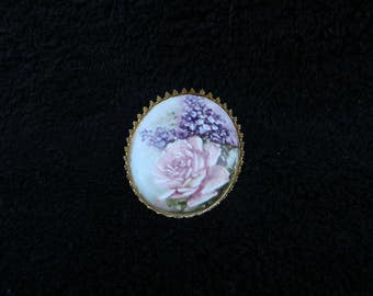 Broach: Porcelain Jewelry