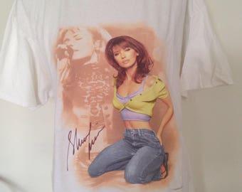 Vintage Shania Twain 90s Country Music Tshirt