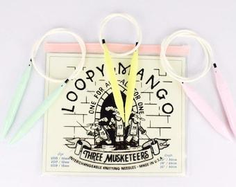 Three Musketeers - Interchangeable Knitting Needle Set