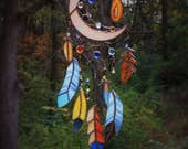 Special Dream Catcher Bright Bright Art Glass for MadMac
