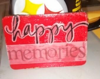 Happy memories magnet