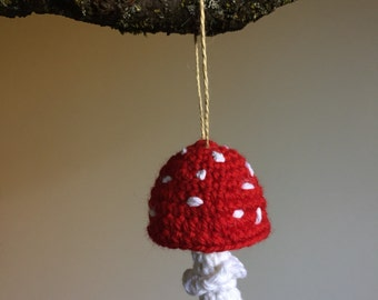 Amanita Muscaria Ornament