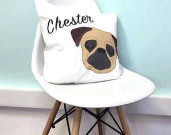 BESPOKE Dog Cushion for Sherine
