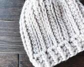 Oliver Beanie Crochet Pattern // Easy // Tutorial