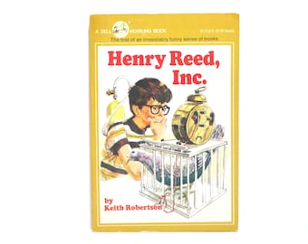 Henry Reed, Inc. by Keith Robertson Illustrated by Robert McCloskey 1981 Vintage Dell Yearling Book