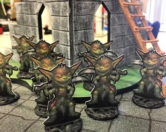 8 Goblin Minis