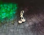Sterling Silver Mini Cherry Charm
