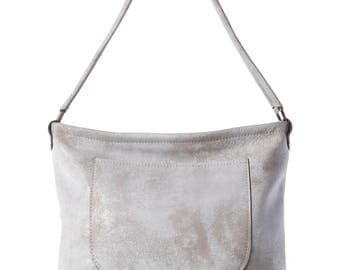 Leather Shoulder Bag Everyday Bag zipper bag