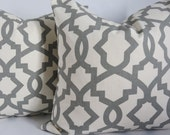 2 custom pillow covers