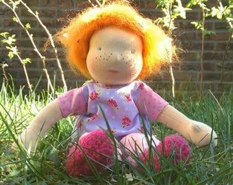 Rosalie 12 inch waldorf doll