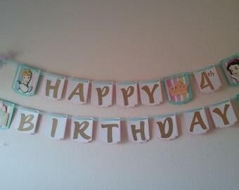 Princess Birthday- Cinderella Birthday-Snowhite Birthday-