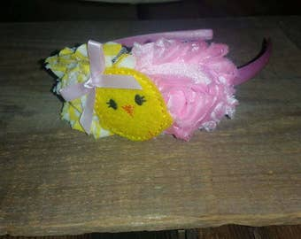 Baby Chick Easter Headband