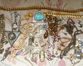 Lot4Jewelry Destash-Braclets/Necklaces/Earrings-Rhinestone/Crystal-Great for altered