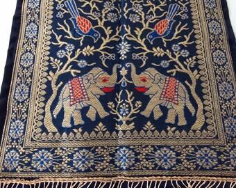 vintage elephant pocket wall hanging India