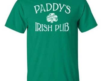 Paddy's Irish Pub Tee | Adult Philadelphia Distressed T-shirt
