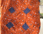 """University of Tennessee Rag Quilt """"Reserved for LaShawn"""""""