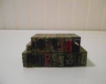 letterpress blocks printing stamps vintage typography letter blocks metal blocks printing press lithography