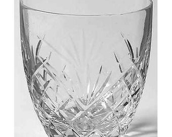 Galway Ashford Crystal - Double Old Fashioned Glass - DBL-OF
